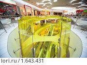Купить «Эскалатор в торговом центре», фото № 1643431, снято 28 ноября 2009 г. (c) Losevsky Pavel / Фотобанк Лори