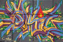 Граффити на бетонной стене, фото № 1644563, снято 7 октября 2009 г. (c) Losevsky Pavel / Фотобанк Лори
