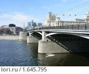 Бородинский мост. Москва (2010 год). Редакционное фото, фотограф LightLada / Фотобанк Лори