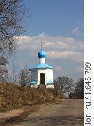 Часовенка возле Снетогорского монастыря (2010 год). Стоковое фото, фотограф Валентина Троль / Фотобанк Лори