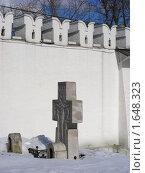 Купить «Москва. Свято-Данилов монастырь», эксклюзивное фото № 1648323, снято 17 марта 2010 г. (c) lana1501 / Фотобанк Лори