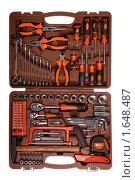 Купить «Набор слесарных инструментов (изолировано на белом фоне)», фото № 1648487, снято 20 апреля 2010 г. (c) Дмитрий Яковлев / Фотобанк Лори
