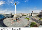 Купить «Киев, Майдан Незалежности», фото № 1650231, снято 23 мая 2018 г. (c) Михаил Марковский / Фотобанк Лори