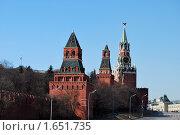 Купить «Московский Кремль», фото № 1651735, снято 3 апреля 2010 г. (c) Мастепанов Павел / Фотобанк Лори