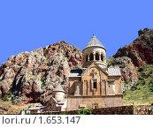 Монастырь Нораванк, Армения. Стоковое фото, фотограф Татьяна Крамаревская / Фотобанк Лори