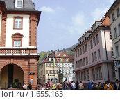 Улица в Гейдельберге (2006 год). Редакционное фото, фотограф Татьяна Крамаревская / Фотобанк Лори