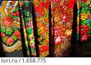 Купить «Павловопосадские платки», фото № 1658775, снято 3 апреля 2010 г. (c) ИВА Афонская / Фотобанк Лори