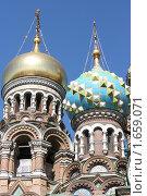 Купить «Купола», фото № 1659071, снято 24 апреля 2010 г. (c) Галина Беззубова / Фотобанк Лори