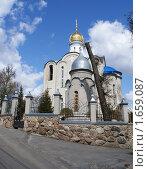 Купить «Белая церковь г. Брянск», фото № 1659087, снято 25 апреля 2010 г. (c) Александр Шилин / Фотобанк Лори