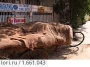 Купить «Правила парковки», фото № 1661043, снято 22 марта 2010 г. (c) Екатерина Афанасьева / Фотобанк Лори