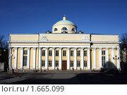 Купить «Финляндия. Хельсинки. Национальная библиотека», фото № 1665099, снято 19 апреля 2010 г. (c) Корчагина Полина / Фотобанк Лори