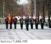 Почетный караул в александровском саду (2010 год). Редакционное фото, фотограф Артур (Мangalor) / Фотобанк Лори