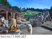Купить «Гуцульская ярмарка  на Яблуницком перевале», фото № 1666267, снято 31 июля 2009 г. (c) Aleksander Kaasik / Фотобанк Лори