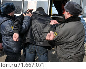 Купить «Задержание», эксклюзивное фото № 1667071, снято 12 апреля 2010 г. (c) Free Wind / Фотобанк Лори