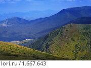 Купить «Высокогорное Прикарпатье, гора Говерла», фото № 1667643, снято 15 октября 2018 г. (c) Aleksander Kaasik / Фотобанк Лори