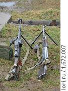 Купить «Пулемёты», эксклюзивное фото № 1672007, снято 23 апреля 2010 г. (c) Free Wind / Фотобанк Лори
