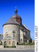 Купить «Восстановленная церковь Святой Троицы, г.Каменец-Подольский», фото № 1680607, снято 29 июля 2009 г. (c) Aleksander Kaasik / Фотобанк Лори