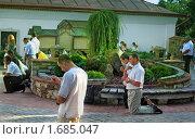 Купить «Молитва в Ильин день на дворе Гошовского монастыря», фото № 1685047, снято 2 августа 2009 г. (c) Aleksander Kaasik / Фотобанк Лори