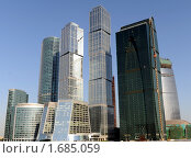 Москва-Сити. Редакционное фото, фотограф Оксана Sk / Фотобанк Лори