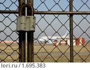 Купить «Аэропорт на замке», фото № 1695383, снято 25 апреля 2010 г. (c) Дмитрий Ощепков / Фотобанк Лори