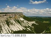 Купить «Крым.  Вид на  Беш-Кош», фото № 1698819, снято 14 июня 2009 г. (c) T&B / Фотобанк Лори