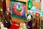 Игрушка царицынская. Рождественский вертеп, фото № 1700143, снято 13 мая 2010 г. (c) Дорощенко Элла / Фотобанк Лори