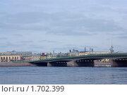 Санкт-Петербург. Вид на Литейный мост (2010 год). Редакционное фото, фотограф Алексей Артамонов / Фотобанк Лори