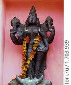 Купить «Статуэтка в индуистском храме», фото № 1703939, снято 4 мая 2010 г. (c) Анжелика Самсонова / Фотобанк Лори