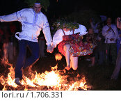 Ночь на Ивана Купалу (2009 год). Редакционное фото, фотограф BoLinar / Фотобанк Лори