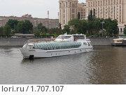 Купить «Обновленная гостиница Украина на берегу реки Москва», фото № 1707107, снято 16 мая 2010 г. (c) nikshor / Фотобанк Лори