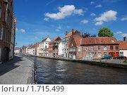 Купить «Набережная Брюгге», фото № 1715499, снято 10 мая 2010 г. (c) Maria Kuryleva / Фотобанк Лори