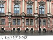 Купить «Санкт-Петербург.  Дворец Белосельских-Белозерских», эксклюзивное фото № 1716463, снято 22 апреля 2010 г. (c) Яна Королёва / Фотобанк Лори