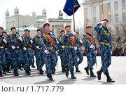 Купить «Спецназ», фото № 1717779, снято 9 мая 2010 г. (c) Александр Подшивалов / Фотобанк Лори