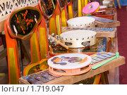 Купить «Ксилофон и детский бубен», фото № 1719047, снято 21 мая 2010 г. (c) Абакумова Евгения / Фотобанк Лори