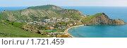 Крым, панорама пгт. Орджоникидзе (2010 год). Стоковое фото, фотограф Сергей Разживин / Фотобанк Лори