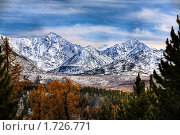 Купить «Осенние горы», фото № 1726771, снято 20 сентября 2009 г. (c) Коваль Василий / Фотобанк Лори