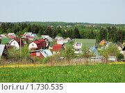 Купить «Садовое товарищество», фото № 1730535, снято 15 мая 2010 г. (c) Елена Ильина / Фотобанк Лори