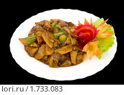 Купить «Китайская кухня. «Три земных свежести» («чисанчи»)», фото № 1733083, снято 26 февраля 2010 г. (c) Александр Подшивалов / Фотобанк Лори