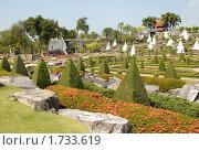 Купить «Панорама сада Нонг Нуч. Таиланд.», эксклюзивное фото № 1733619, снято 17 января 2010 г. (c) Svet / Фотобанк Лори