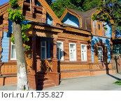 Купить «Старый деревянный дом на улице Щедрина. Рязань.», фото № 1735827, снято 20 мая 2010 г. (c) УНА / Фотобанк Лори