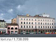 Купить «Выборг. Здания на Красной площади», фото № 1738099, снято 28 октября 2008 г. (c) Корчагина Полина / Фотобанк Лори
