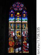 Витраж (2010 год). Стоковое фото, фотограф Яна Векуа / Фотобанк Лори