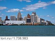 Детройт, США (2010 год). Стоковое фото, фотограф Марина Михайлова / Фотобанк Лори