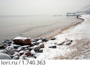 Туманное побережье. Стоковое фото, фотограф Svet / Фотобанк Лори