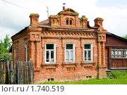 Купить «Кирпичный деревенский дом 19 века», фото № 1740519, снято 27 мая 2010 г. (c) Александр Курлович / Фотобанк Лори