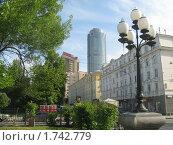 Купить «Улица Тургенева в Екатеринбурге», фото № 1742779, снято 31 мая 2010 г. (c) Людмила Банникова / Фотобанк Лори