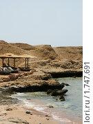 Пляж в Египте (2010 год). Стоковое фото, фотограф Анастасия Репникова / Фотобанк Лори