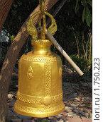 Буддийский колокол (2010 год). Стоковое фото, фотограф Сергей Тарасов / Фотобанк Лори