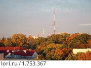Купить «Осень в городе», эксклюзивное фото № 1753367, снято 11 октября 2008 г. (c) Svet / Фотобанк Лори