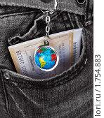 Купить «Весь  мир  в  твоём  кармане», фото № 1754883, снято 3 июня 2010 г. (c) Юлия  Лесина / Фотобанк Лори